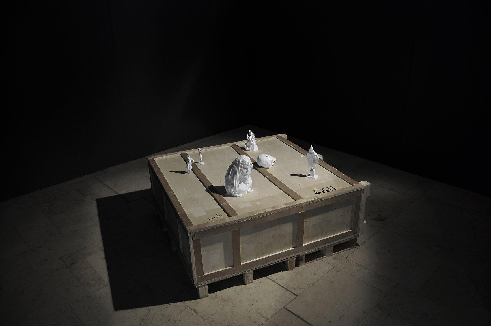 shining recollection, Ausstellungsansicht